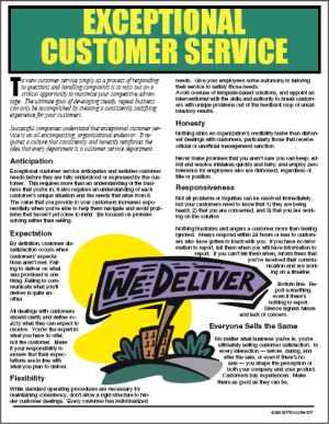 Providing+Exceptional+Customer+Service