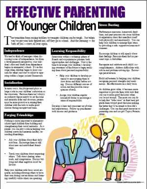 Effective+Parenting+of+Younger+Children+handout