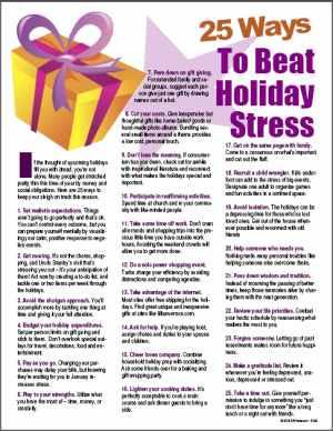 25+Ways+to+Beat+Holiday+Stress+tip+sheet