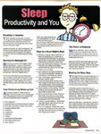 E135 Sleep, Productivity, and You
