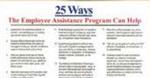 E145 25 Ways the EAP Can Help