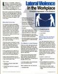 E151 Lateral (Horizontal) Violence at Work