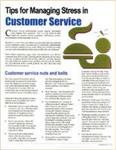 E152 Managing Customer Service Stress