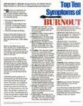 E163 Top Ten Symptoms of Burnout