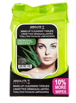 Aloe Extract Make Up Cleansing Tissues 33 Tissues