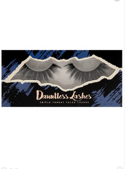 Dauntless . Extremely, Hollywood! Live large in these stunners. ( If you like Diane's lashes, she wears these!)  Lashes do not come with adhesive so grab your favorite . We try to offer adhesives when we can!