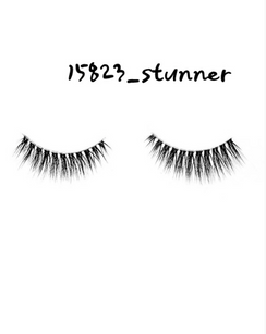 Extremely, Hollywood! Live large in these stunners.  Lashes do not come with adhesive so grab your favorite . We try to offer adhesives when we can!