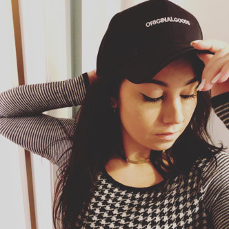Be original! Original Goods ! Ball cap. Cotton in Black . Available in White - See White