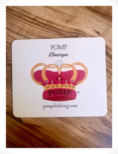 Get POMP'd while you work! Brand new POMP mousepads are in , check out both styles!