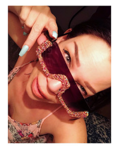 Blinged out Boujee Sunnies ! a rare treasure! Grab a pair . Will not be restocked as these are going to be a truly unique pair to a lucky duck! Click through to see all photos