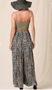 Khaki Days Animal print wide leg pants featured in an easy, lightweight fabric.