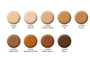 Tan as shown on swatch