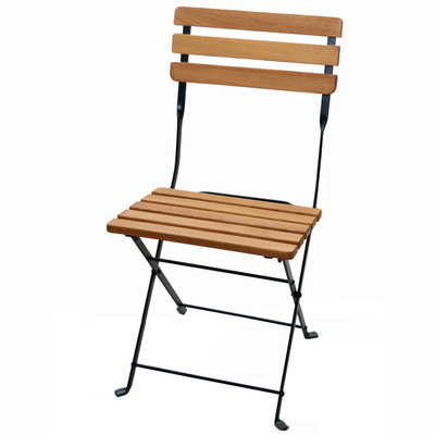 Outdoor Folding Wood Chair