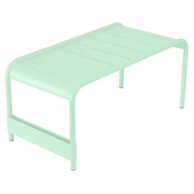 Large Low Table/ Bench Luxembourg in Opaline Green