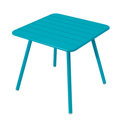 Luxembourg Square Table Turquoise