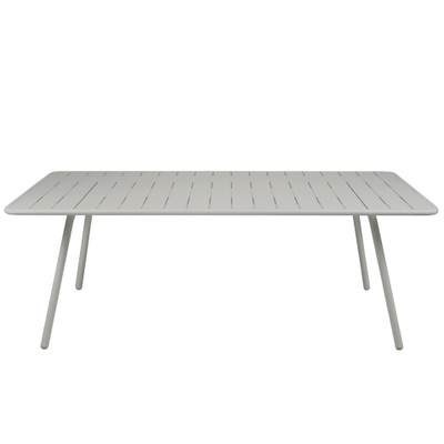 Luxembourg medium size table Steel Grey