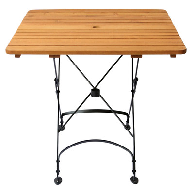 Rebecca Folding Table with umbrella hole