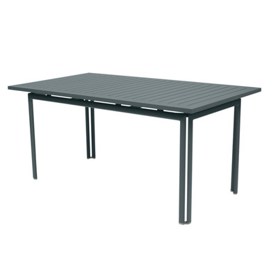 Costa Rectangular Table shown in Storm Grey