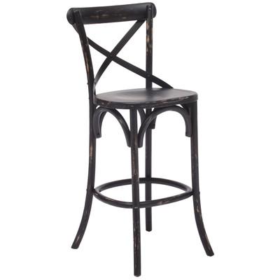 Bar Height Stool - Antique Black
