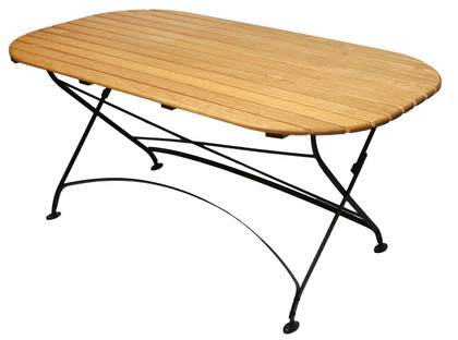Rebecca Oval folding table