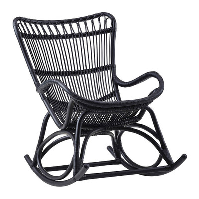 Monet Rocking Chair, Matte Black