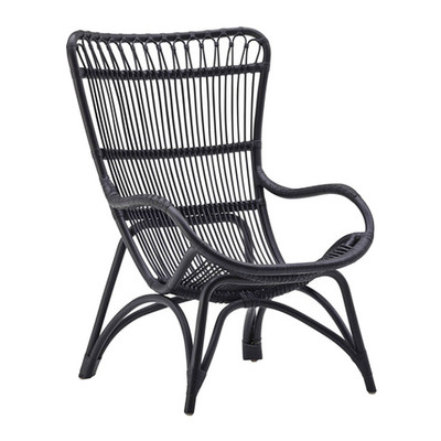 Monet Chair, Matte Black