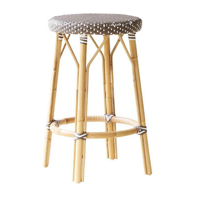 Simone Counter Stool, Cappuccino with White Dots