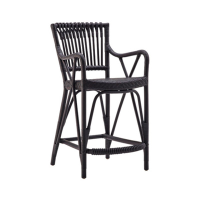 Blues Bar Stool-Matte Black