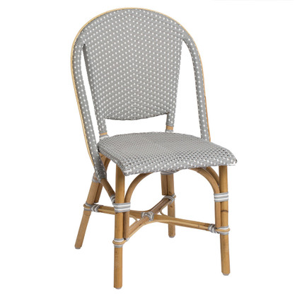 Sofie Side Chair, Grey with White Dots