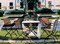 Tosca chairs with folding square table