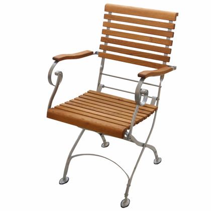 Estella Arm chair w/silver frame