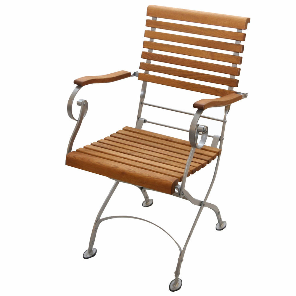 Haste Garden Estella Folding Arm Chair