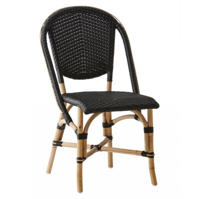 Sophie black side chair