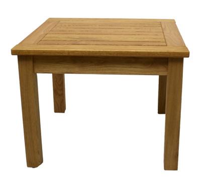 Teak Style End Table