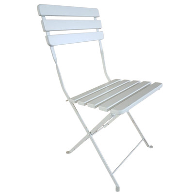 Nico folding chair in white