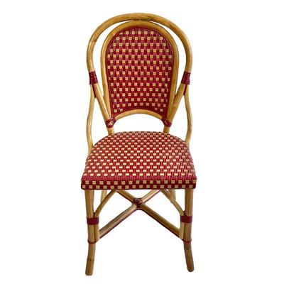 Montmartre Rattan Chair - Red/Beige (Set of 2)