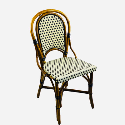 Montmartre chair in Ivory/Black