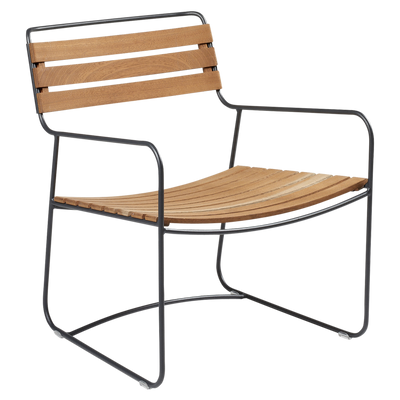 Surprising Teak Low Armchair