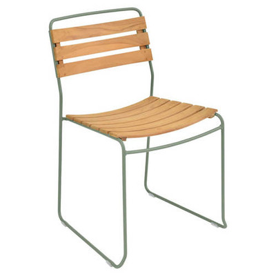Fermob Surprising Teak Stacking Chair
