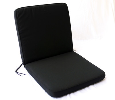 Black Cushion for Low Back Chair