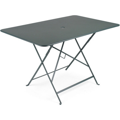 "Bistro 46"" x 30"" rectangle folding table."