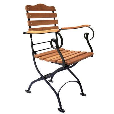Outdoor Folding Arm Chair