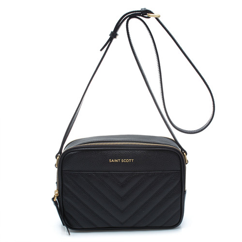 [SAINT SCOTT] Linzy Crossbody Bag - Black