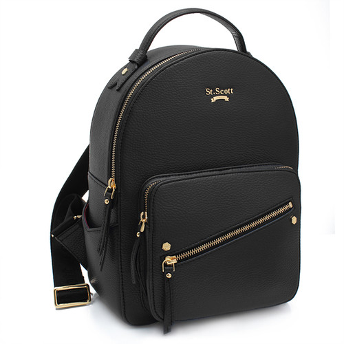[SAINT SCOTT] Connie Backpack - Black