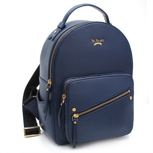 [SAINT SCOTT] Connie Backpack - Navy Blue