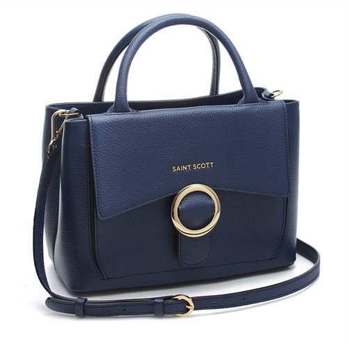 [SAINT SCOTT]Regina Tote Bag - Navy