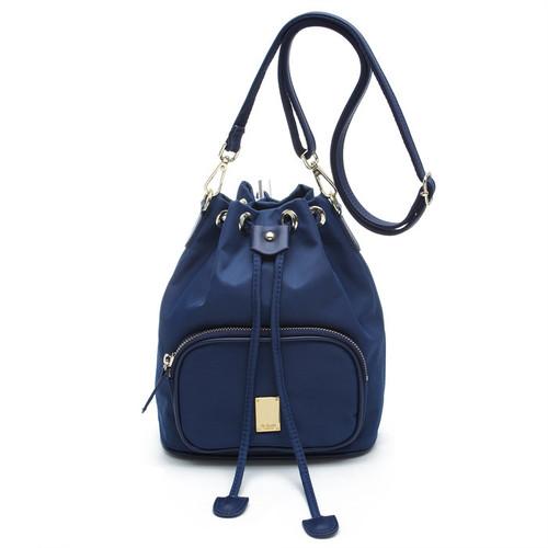 [SAINT SCOTT]NewYork Bucket bag - Navy