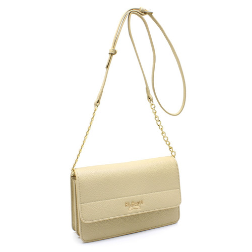 [SAINT SCOTT] Jasmine Shoulder Bag - Beige