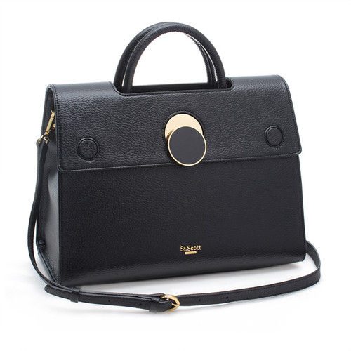 [SAINT SCOTT]Maybelle Tote - Black