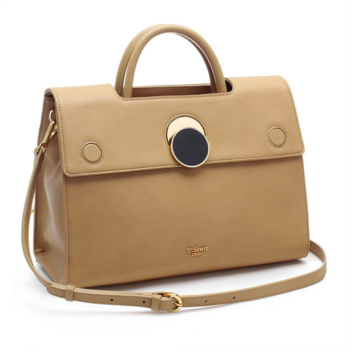 [SAINT SCOTT]Maybelle Tote - Hazelnut Beige